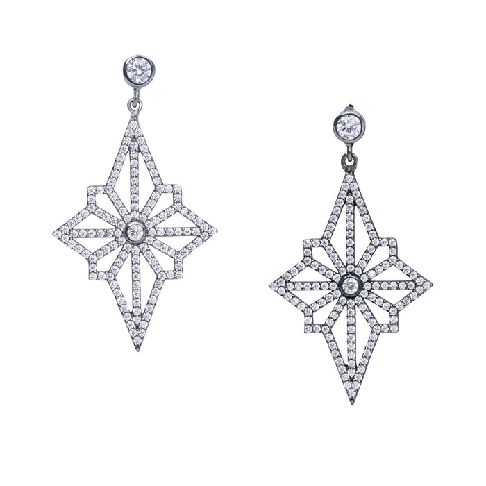 Étoile Tissé Drop Earrings