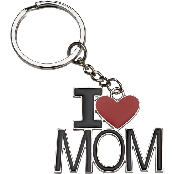 Étoile I Love Mom Key Chain