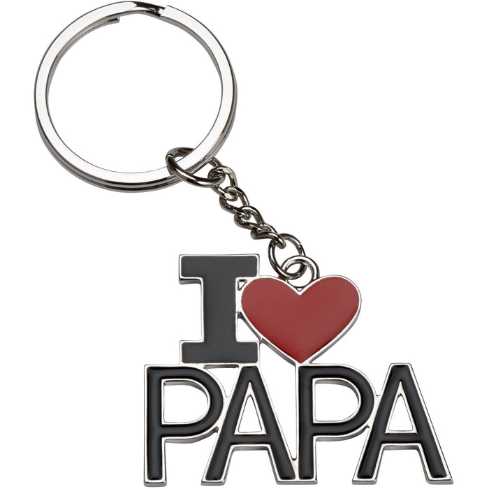 Étoile I Love Papa Key Chain