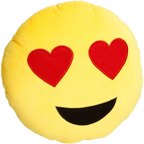 Étoile Love Emoji Plush Pillow