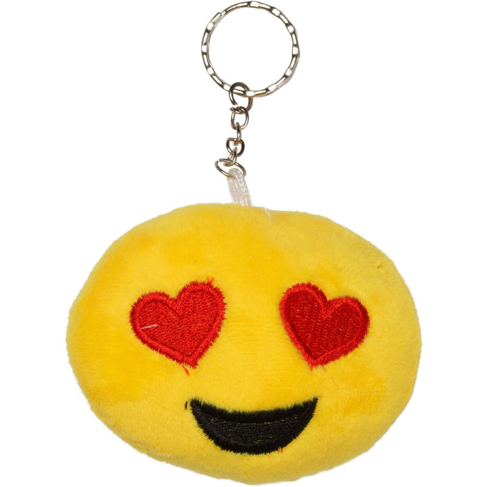 Étoile Love Emoji Plush Key Chain