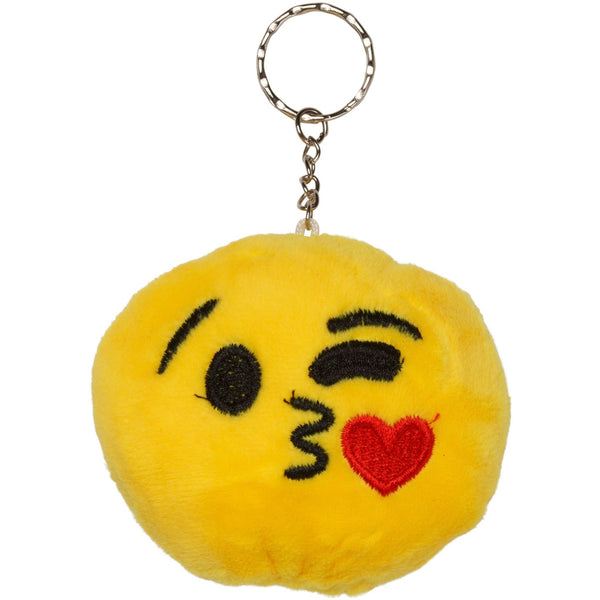 Étoile Kiss Emoji Plush Key Chain
