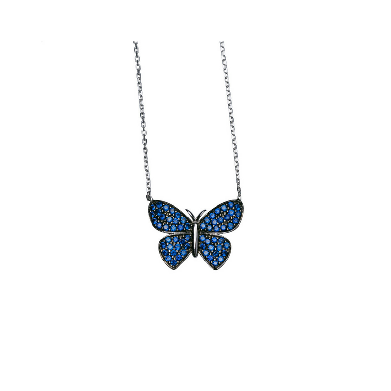 Luxe Butterfly Pendant Necklace