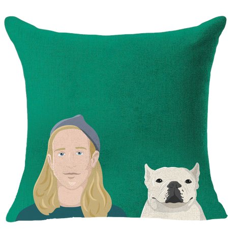 Mommydog Pillow + Mommydog Digital Single