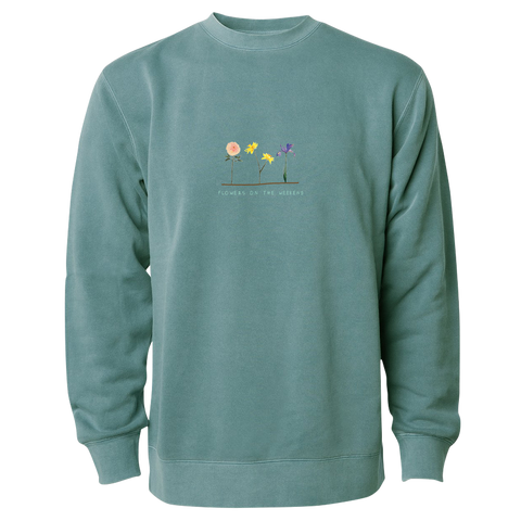 Flowers on the Weekend Crewneck + Digital Album