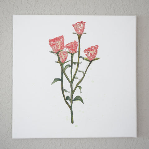 FOTW Spray Roses Painting