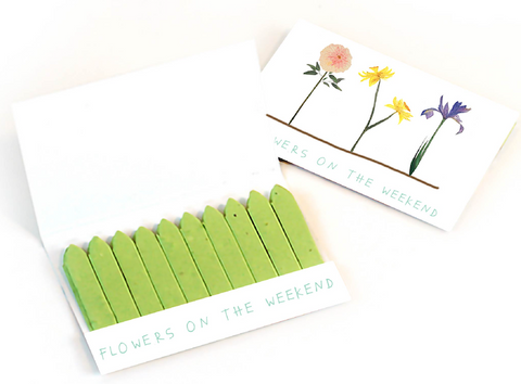 Flowers on the Weekend Herb Stick Set