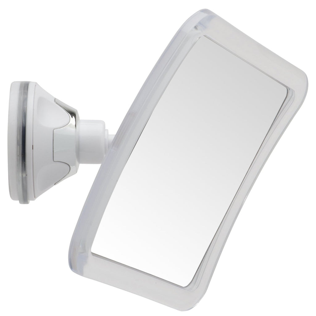 "Mirrorvana Fogless Shower Shaving Mirror, 5.3"" x 5.3"" Surface, 3X Magnification"