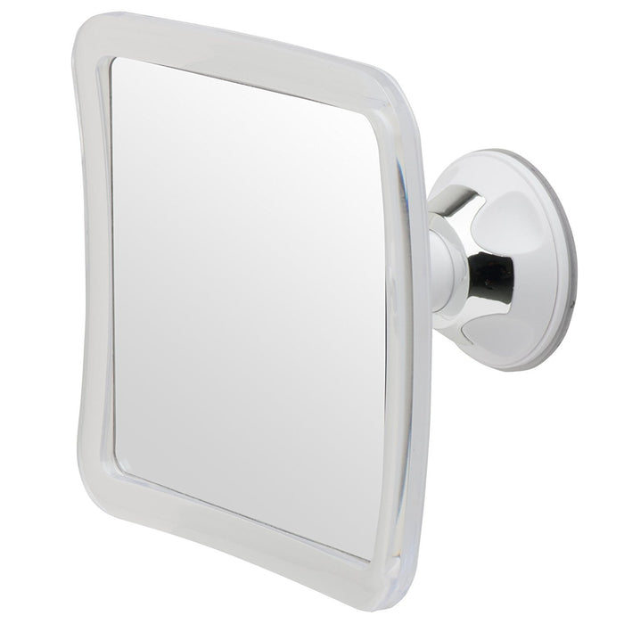 Mirrorvana Anti Fog Shower Shaving Mirror, 16 x 16cm, 3X Magnification