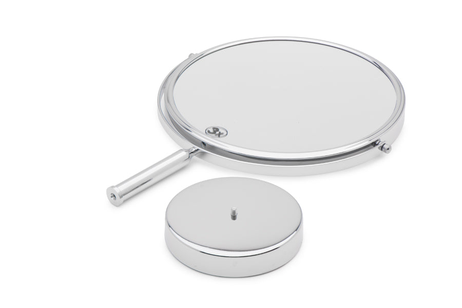 Mirrorvana XXLarge 11-Inch Massive Magnifying Makeup Mirror | Double-Sided 1X and 3X Magnification for Vanity Countertop