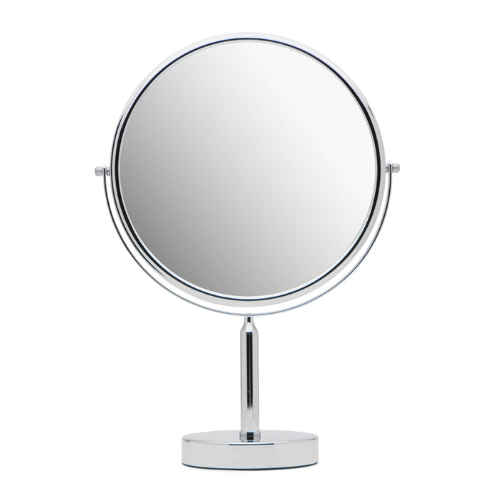 Mirrorvana Oversized 11-Inch Magnifying Makeup Mirror | Double-Sided 1X and 3X Magnification for Home Vanity Countertop