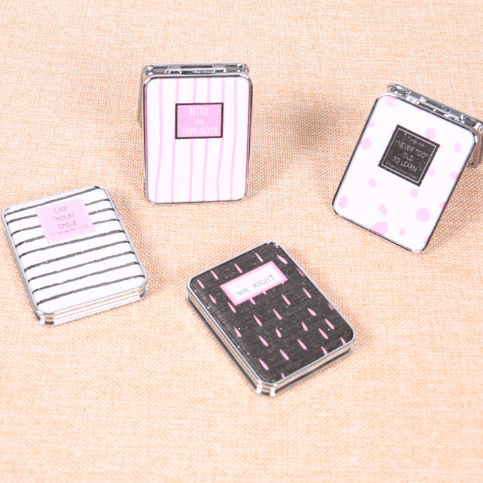 Generic Foldable Pocket Mirror (RANDOM DESIGN & SHIPS FROM CHINA), 1 Piece