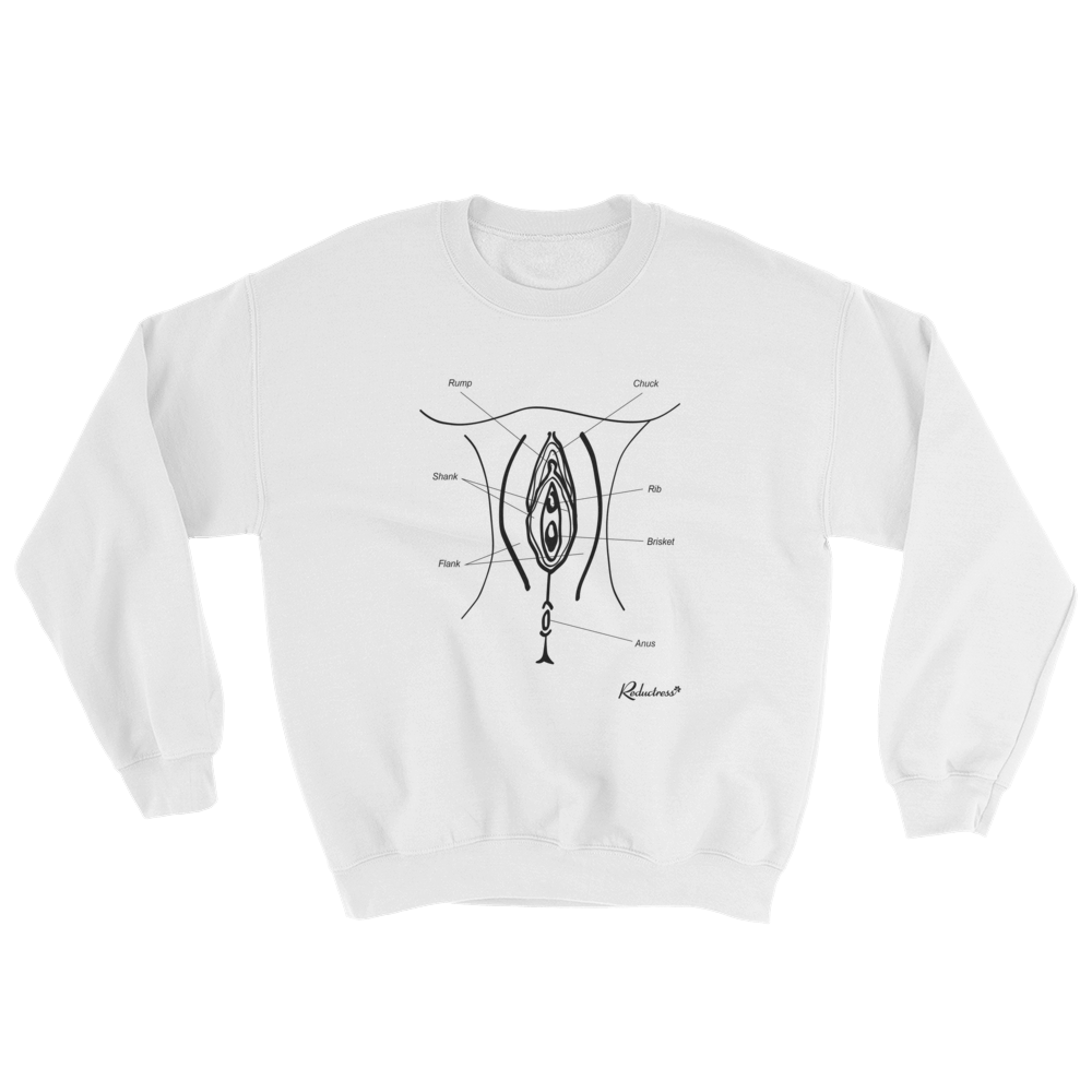 Cuts of Vagina Sweatshirt