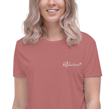 Reductress Embroidered Crop Tee
