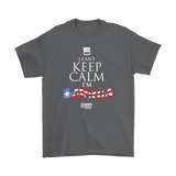 Keep Calm I'm Boricua (Unisex T-Shirt)