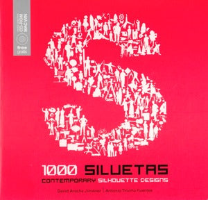 1000 Siluetas: Contemporary Silhouette Designs, W/Cd-Rom