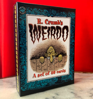 R. Crumb's Weirdo Trading Card Set