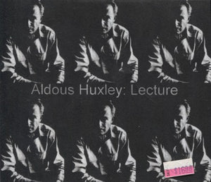 Aldous Huxley: Lecture And The Art Of Seeing (2-Disc Cd)