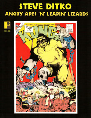 Steve Ditko: Angry Apes 'n' Leaping Lizards