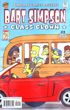 Bart Simpson 15: Class Clown