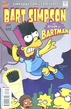Bart Simpson 17: The Return Of Bartman