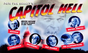 Capitol Hell (Postcard Book)
