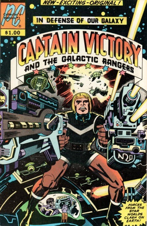 Captain Victory And The Galactic Rangers #1