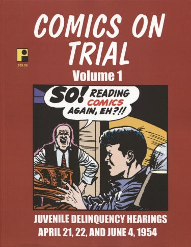 Comics On Trial Vol. 1