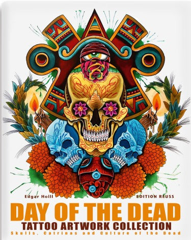 Day Of Dead Tattoo Artwork Collection