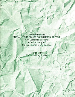 Excerpts From Indian Hemp Commission Report