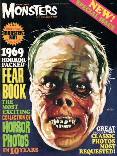Famous Monsters Of Filmland Fearbook 1969