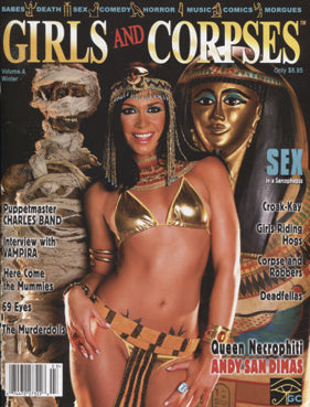 Girls & Corpses Magazine V.4 #4 (Winter 2010)