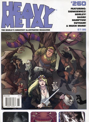 Heavy Metal Magazine #260