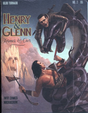 Henry & Glenn Forever And Ever Comic #2 (Alternate Cover)