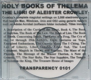 Holy Books Of Thelema (Cd-Rom)