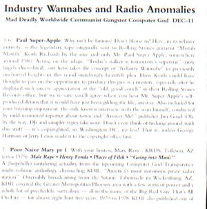 Industry Wannabes Cd