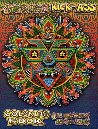 Chris Dyer's Kick-Ass Coloring Book