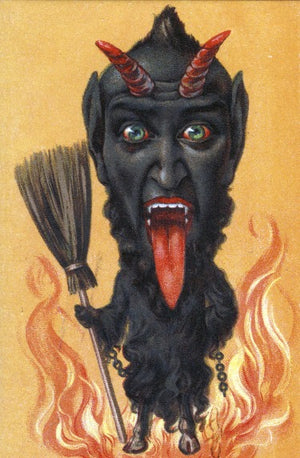 Krampus Card: Broom