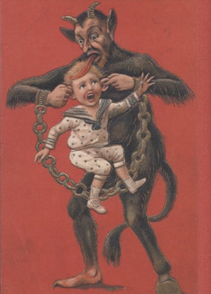 Krampus Card: Ear Pulling