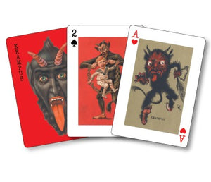 Krampus Playing Cards