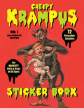 Krampus Sticker Book