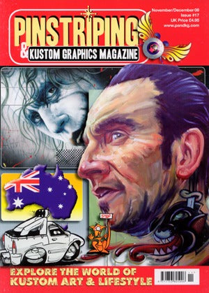 Pinstriping & Kustom Graphics Magazine #17