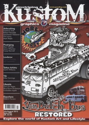 Pinstriping & Kustom Graphics Magazine #33