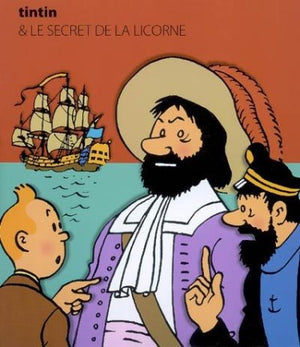 Tintin - The Secret Of The Unicorn: Big Popup, French