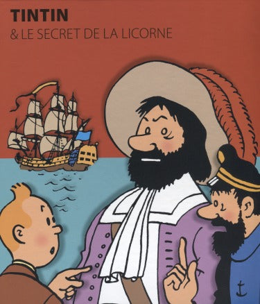 Tintin - The Secret Of The Unicorn: Mini Popup, French
