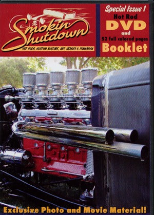 Smokin Shutdown Special Issue 1, Dvd + Booklet