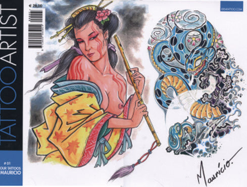 Tattoo Artist #1: Colour Tattoos By Mauricio