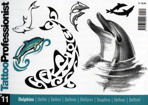 Tattoo Professionist #11: Dolphins