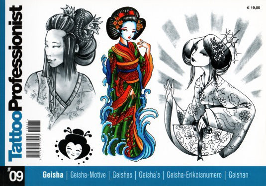 Tattoo Professionist 9: Geisha