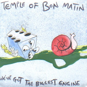 Temple Of Bon Matin: We've Got The Biggest Engine Cd